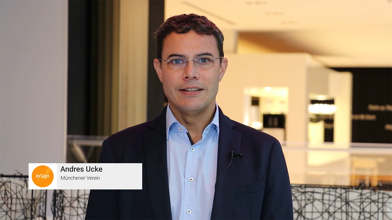 Andres Ucke über elektronische Unterschrift inSign
