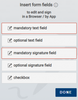 Sign Word documents with inSign
