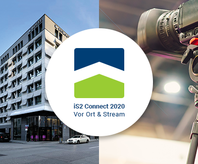 iS2 Connect 2020 - Vor Ort & Stream