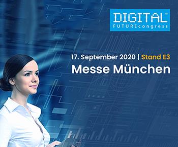 iS2 auf dem <strong>Digital FUTUREcongress</strong> in München