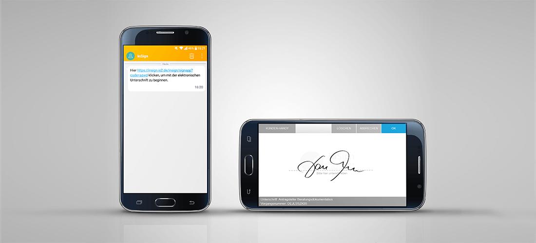 <strong>Nürnberger Versicherungsgruppe setzt auf elektronische Signatur</strong> – Papierloser Versicherungsantrag mit inSign
