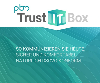PBM Personal Business Machine AG <br>führt <strong>TrustITBox</strong> ein