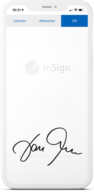 inSign electronic signature