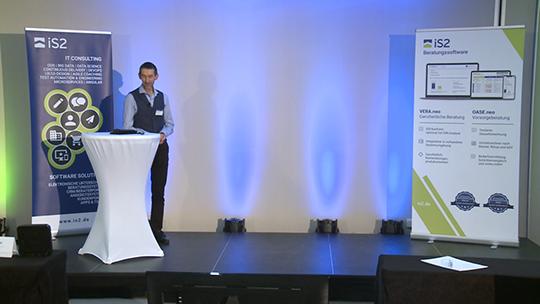 Allianz-Vortrag auf der iS2 Connect